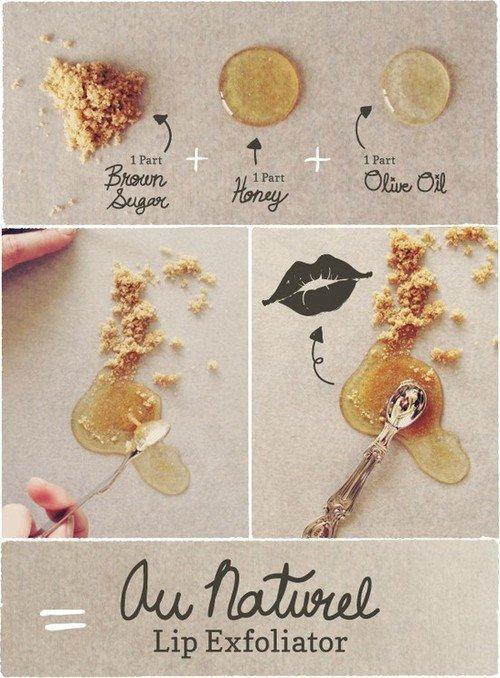Exfoliants à lèvres