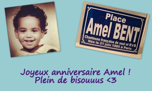 Bon anniversaire Amel !