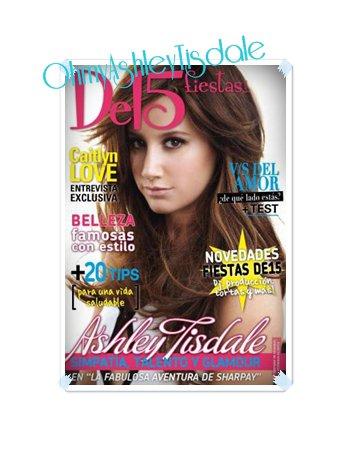 """Ash' a fait la couverture du magazine espagnol """"De15 fiestas"""""""