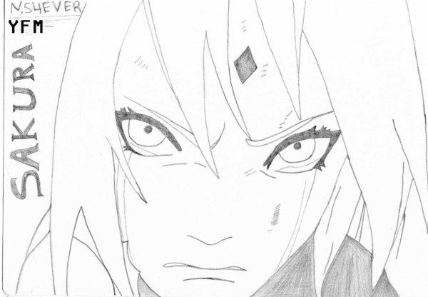 3eme Dessin Voici Sakura Haruno