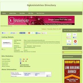 SchoolandUniversity | Sgkministries Directory