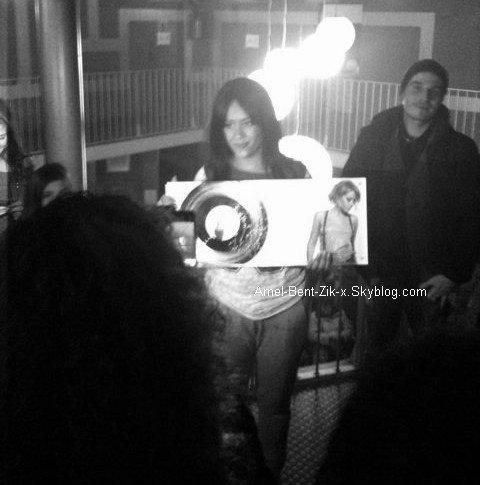 Remise du disque de platine pour Ameel !!!! dans les coulisse du Zenith le 18.déc 2010