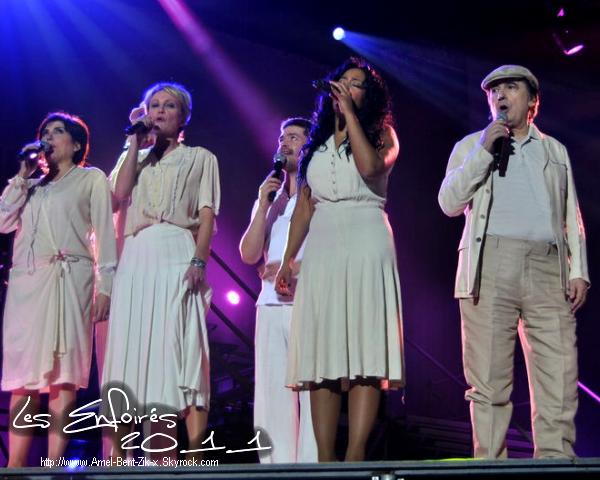 ENFOIRES 2011 - Dans L'Oeil des Enfoirés, c'est reparti pour une nouvelle annés ! et une photos en EXCLU !!