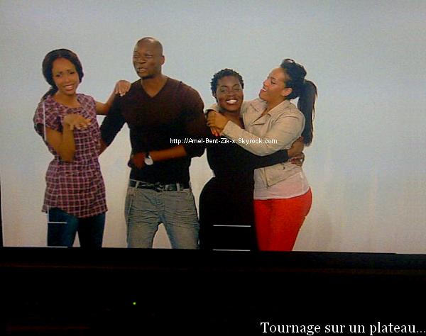 14-06-2011 Sonia Rolland, Singuila, Claudia Tagbo & Amel Bent sur un Tournage... Plus d'info sur ce projet dés que possible ! ;)