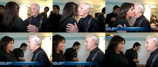 28-09-2011 André Manoukian et Amel Bent se retrouvaient... Charles Aznavour était bien entouré pour la soirée spéciale au profit de l'association Aznavour pour l'Arménie, à l'Olympia. Plein d'amis sur scène, plein d'amis dans la salle...