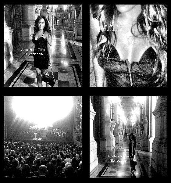 "(Amel Bent @amel_bent) - ""ma soirée à l'Opera Garnier #georgeMichael #sidaction"""