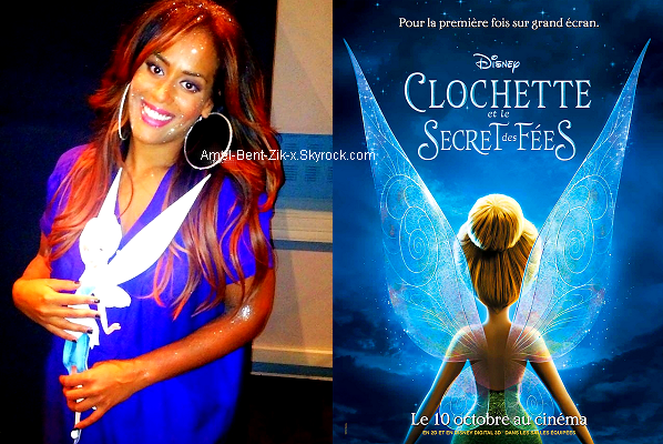"""Lorie et Amel Bent, les voix françaises de Clochette et Cristal dans """"Clochette et le secret des fées"""", en salles le 10 octobre..."""