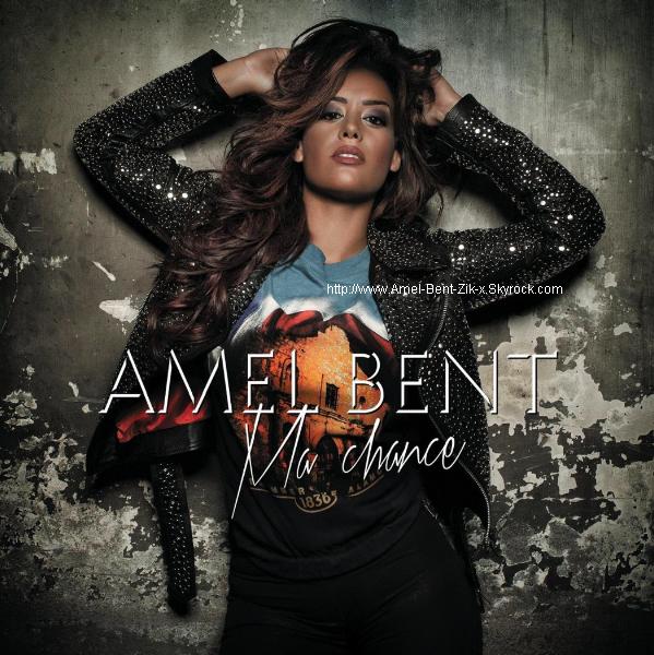"""Amel Bent - visuel de son nouveau single """"Ma Chance"""" !!! Disponible à partir du 15.10.12 !"""