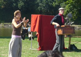 """le Duo """"Live-LSF"""" : une création originale bilingue en Bretagne!"""