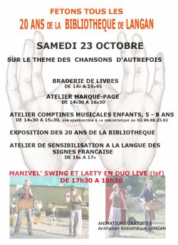"Manivel'Swing en Duo ""Live LSF"" - Les dates d'octobre"