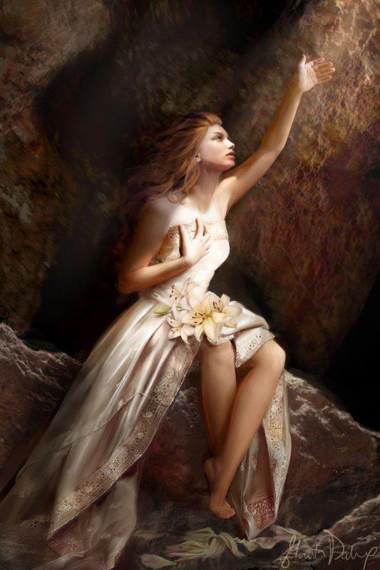 PERSÉPHONE - LA MYTHOLOGIE GREC