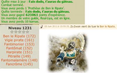 Tombage du Grolandais Violent