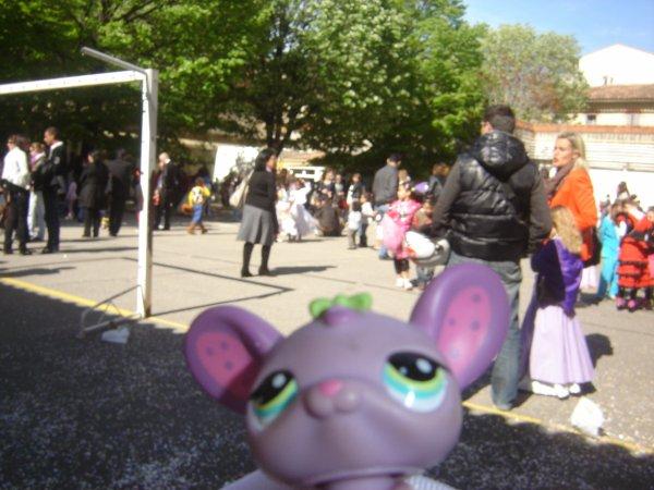 Sénace photo des petshop dans mon carnaval