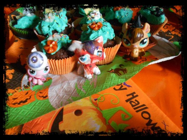 Halloween : Ma photo pour le concours de Petshop-Wonderland (Elise) ♥