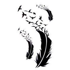 Quand dansent les plumes