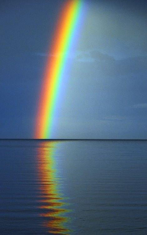 Les couleurs de l'arc en ciel