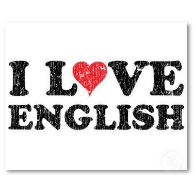 I just lovz English