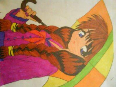 mes dessins de mangas un peu en fouillis