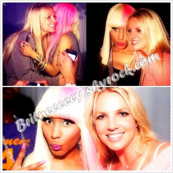 Un duo Britney/Nicki : Fausse rumeur