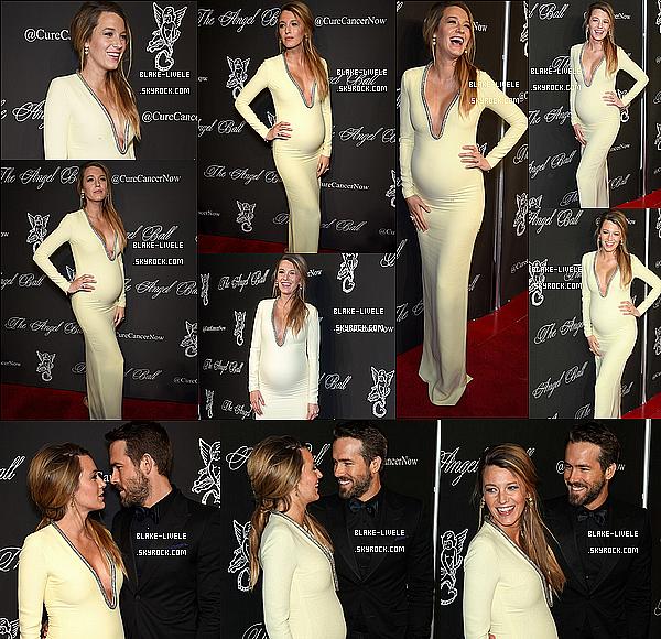 - 20/10/2014 : Blake Lively accompagnée de son mari Ryan était présents au Baby Bump à  Wall Street à New York.-