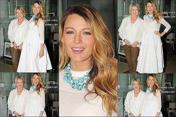 - 08/11/2014 : La sublime Blake Lively était invitée au  « 2014 American Made Summit » à New York City.  ton avis? -