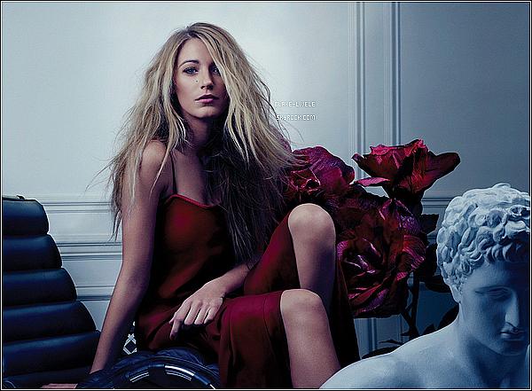 - Redécouvrez un shoot ou la magnifique Blake pour  Bullet Magazine en 2012. avis?   -