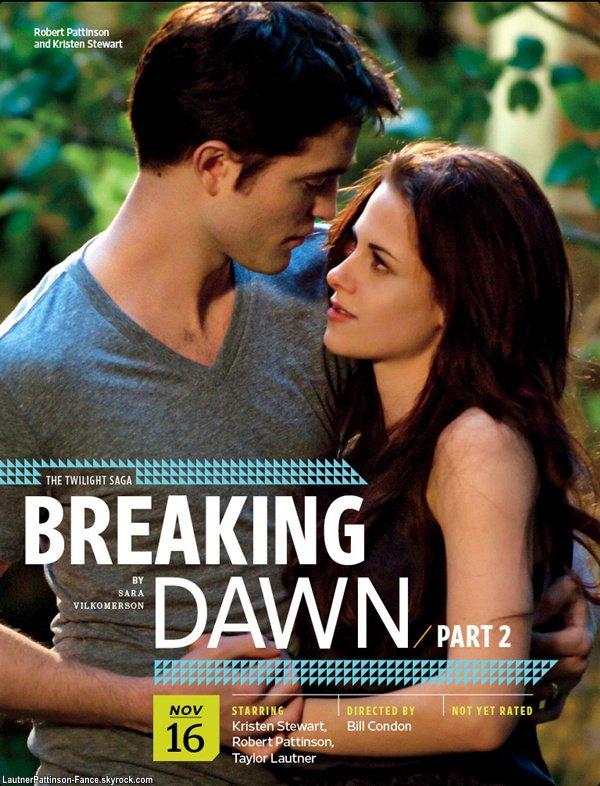 Des Nouvelles Photos De Breaking Dawn Part 2 Viens De Sortir Regardez