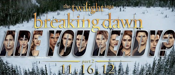The Twilight Saga : Breaking Dawn - Révélation Partie 2 - Affiche !!