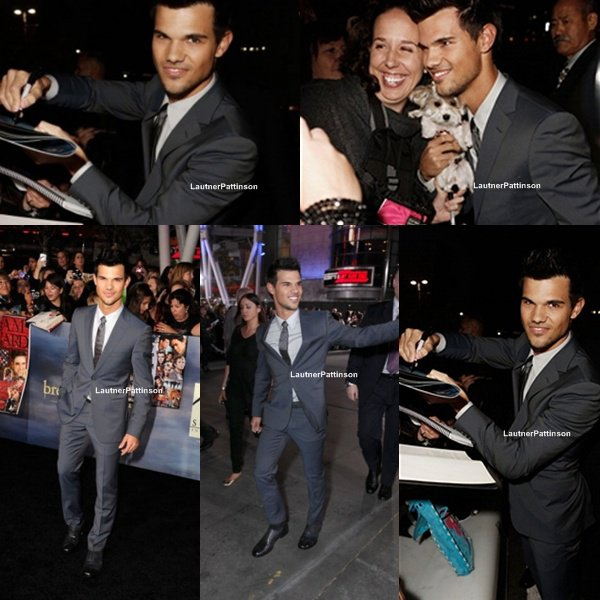 Twilight Breaking Dawn Part II Premiere