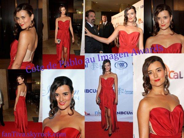 Cote De Pablo au Imagen Awards