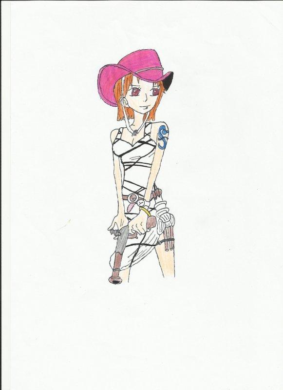 Un dessin de Nami