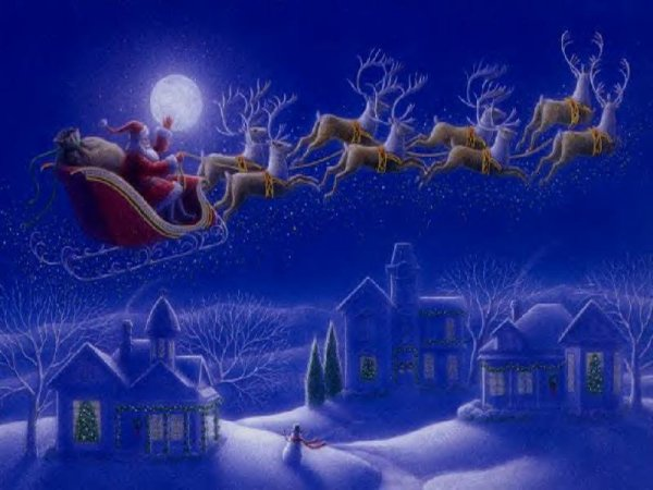 Les lutins du Père,Noël !