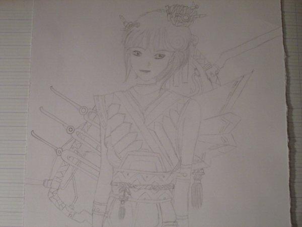 Présentation d'un manga + de mon dessin ^^