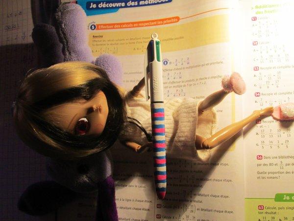 Les devoirs ^^