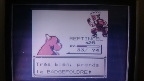 Badge Foudre en poche !!!