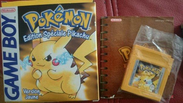 Pokemon Version Jaune - Édition Spéciale Pikachu