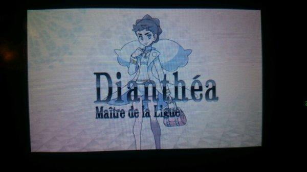 Dianthea,  Le Maître de Ligue de Kalos