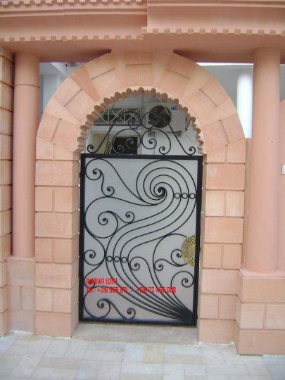 Portail fer forg 48 harmonie de fer forg tunisien for Portail fer forge tunisie