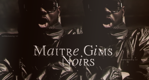Apogée / Maitre Gims - Noirs (2011)