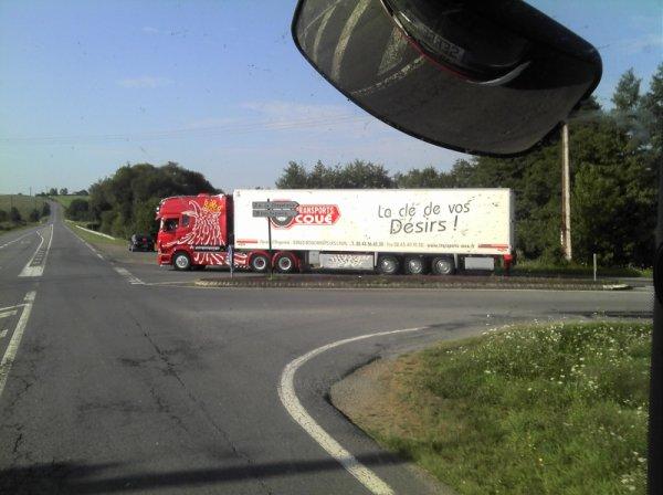 Scania longline coué