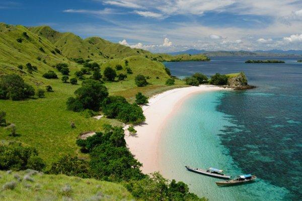 La mer en Indonésie