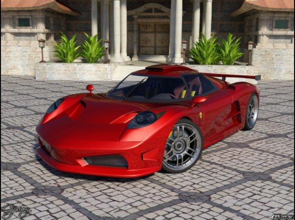 Ferrari 480 concept