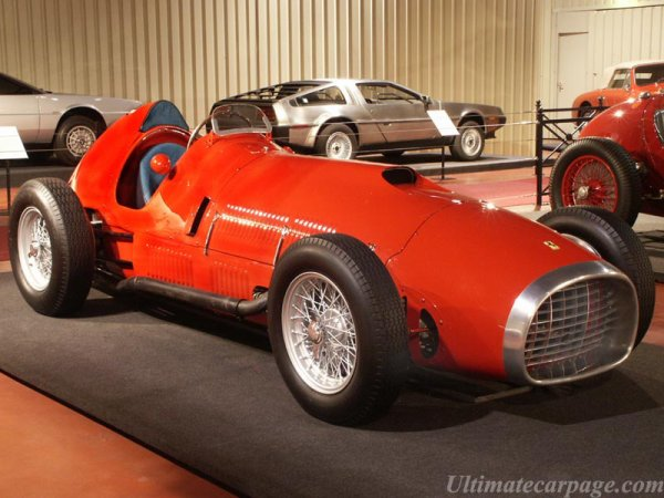 (1950/1951) Ferrari 375 F1