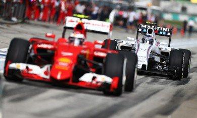 Ferrari inquiète beaucoup Williams