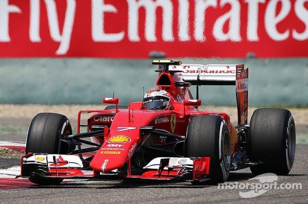 """Räikkönen - """"J'ai juste fait un mauvais tour"""""""