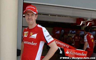 Vettel : Rattraper Mercedes est pour l'instant très ambitieux