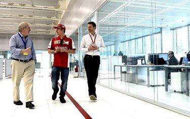 1 - Räikkönen impressionné par les nouveau bureaux de Maranello