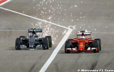 Vettel : La course à l'armement décidera du titre