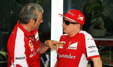 Arrivabene a séduit Räikkönen