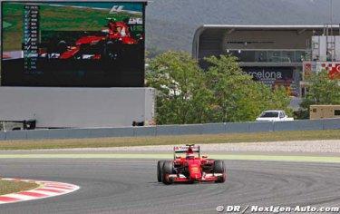 Raikkonen voulait la quatrième place de Bottas..